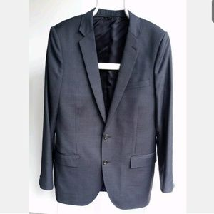 J CREW Ludlow Men 42 L Charcoal Wool Blazer